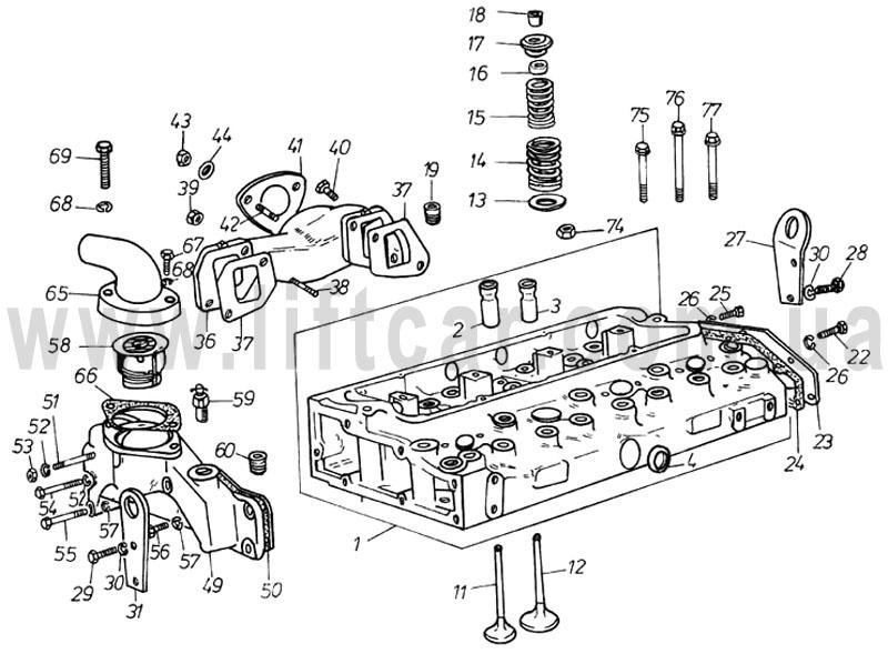двигатель д2500 руководство по ремонту